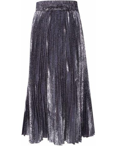 Плиссированная юбка миди с поясом Red Valentino