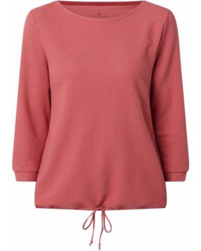 Różowa bluza bawełniana Tom Tailor