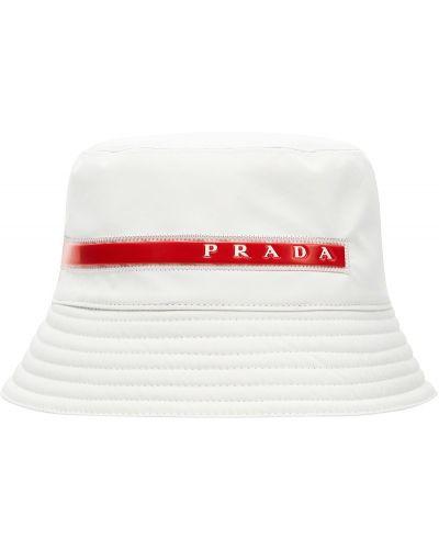 Панама белый Prada