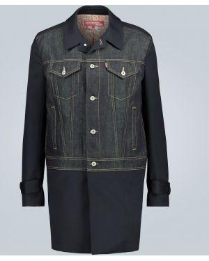 Джинсовая куртка длинная легкая Junya Watanabe