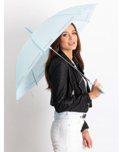 Niebieski automatyczny parasol materiałowy Fashionhunters