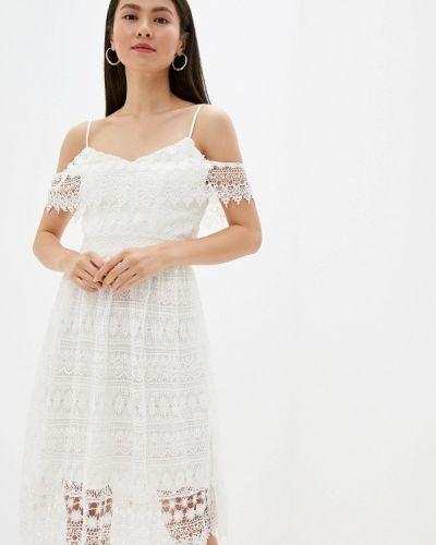 Платье прямое осеннее Chi Chi London