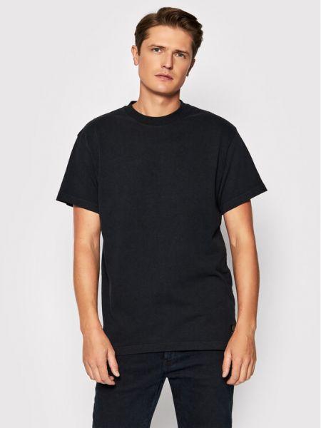 T-shirt - czarna Deus Ex Machina