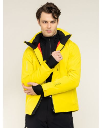 Żółta kurtka Descente