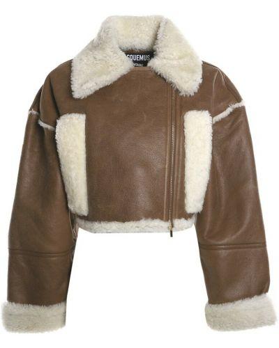 Płaszcz - brązowy Jacquemus