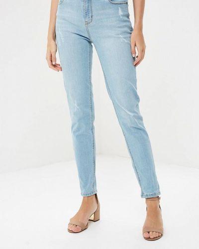 Голубые джинсы-скинни Zarina