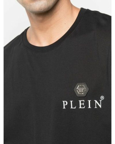 Czarna t-shirt z printem Philipp Plein