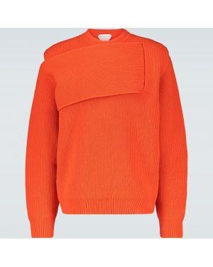 Оранжевый свитер Bottega Veneta