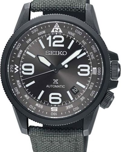 Часы механические водонепроницаемые с подсветкой Seiko