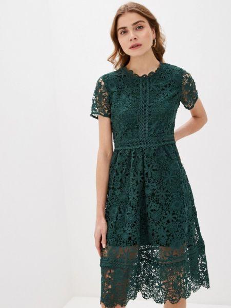 Вечернее платье - зеленое Liana