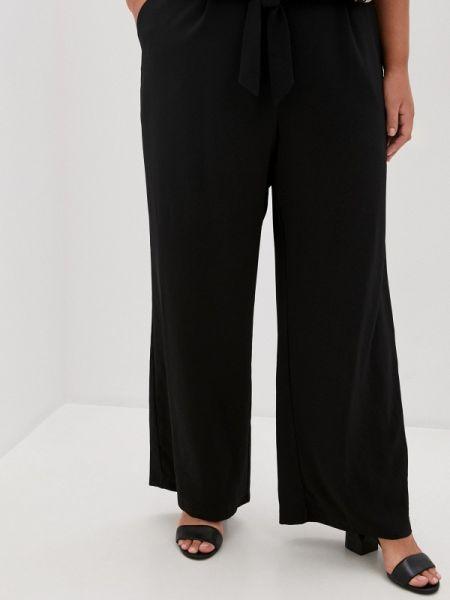 Прямые черные брюки Evans