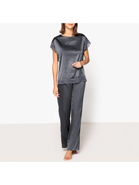 Пижама с брюками свободная пижамный La Redoute Collections