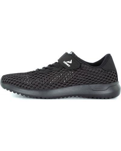 Кожаные спортивные кроссовки сетчатые с сеткой Demix