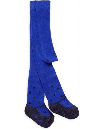 Niebieskie rajstopy bawełniane Catimini