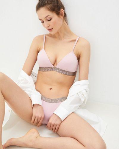 Розовый бюстгальтер из плотной ткани Calvin Klein Underwear