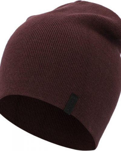 Акриловая фиолетовая спортивная шапка Demix