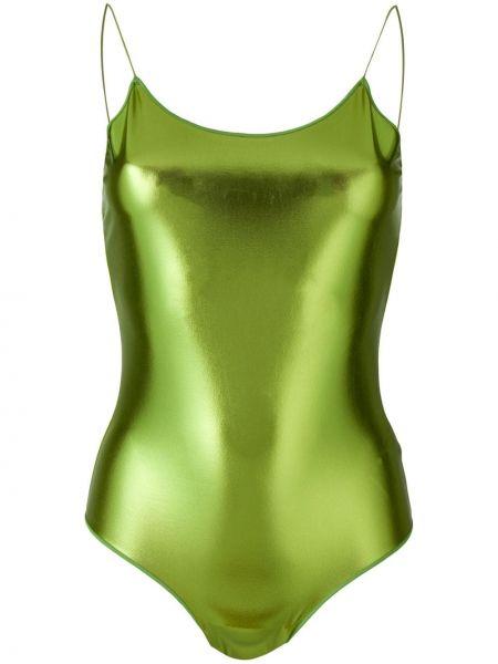 Купальник из эластана - зеленый Oseree