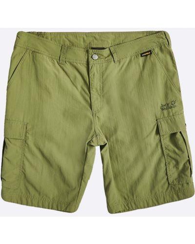 Спортивные шорты прямые с карманами Jack Wolfskin