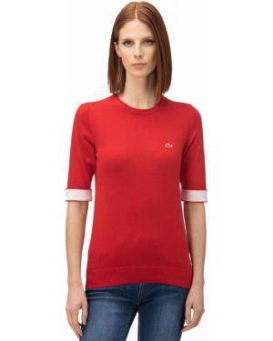 Кашемировый свитер Lacoste