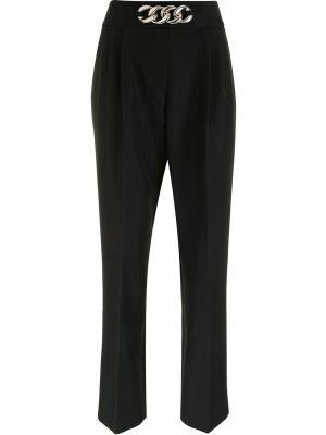 Шерстяные классические брюки - черные Alexander Wang