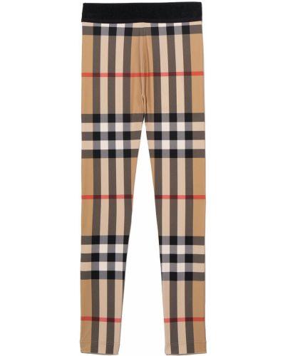 Beżowe spodnie vintage Burberry Kids