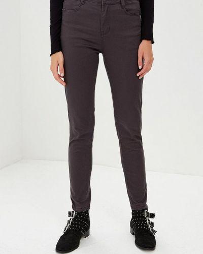 Серые зауженные брюки Befree