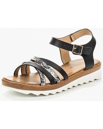 Черные сандалии Chicmuse