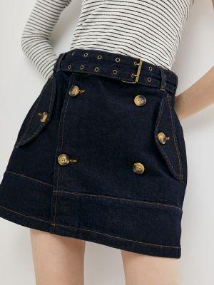 Синяя джинсовая юбка Adl