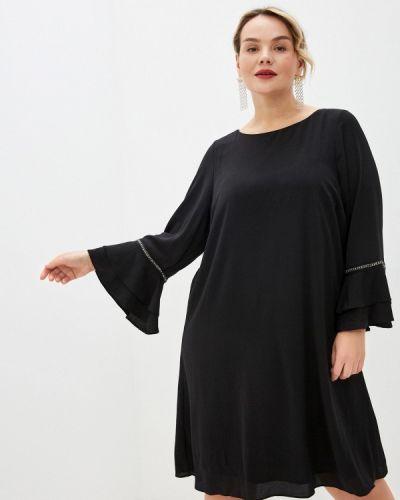 Повседневное черное платье Evans