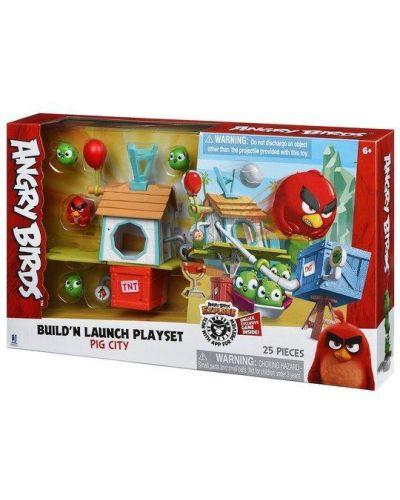 Городской маникюрный набор Angry Birds
