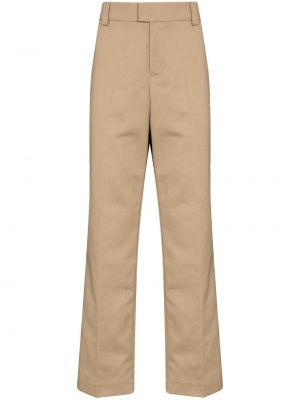 Beżowe spodnie bawełniane Soulland