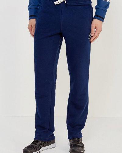 Синие спортивные брюки Reebok