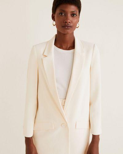 Пиджак прямой с подкладкой Mango