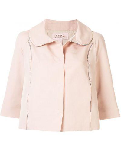 Розовая короткая куртка Paskal