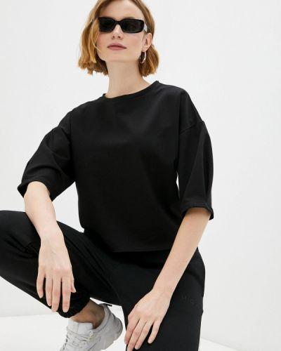 Черная футболка с короткими рукавами Adl