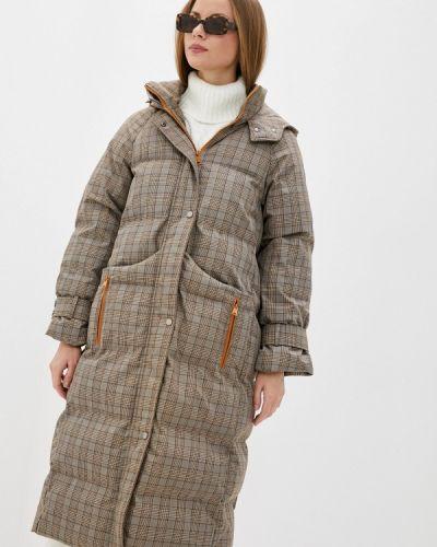 Бежевая теплая куртка On Parle De Vous