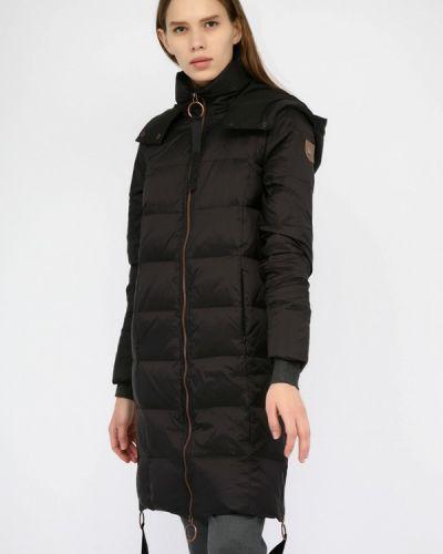 Зимняя куртка осенняя черная Monton