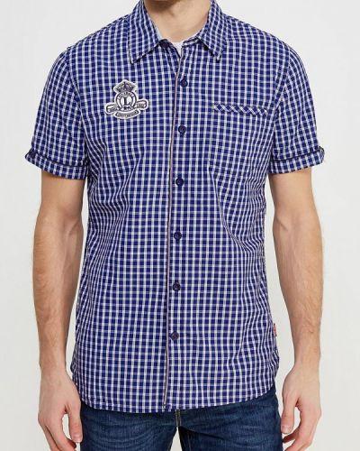 Синяя рубашка Lonsdale