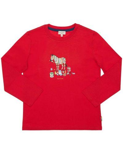 Bawełna bawełna koszula Paul Smith Junior