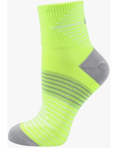 Желтые носки Nike