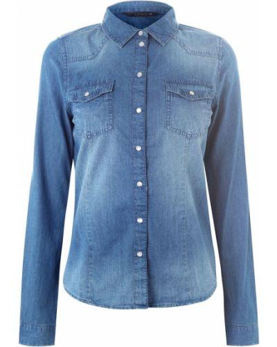 Koszula jeansowa - niebieska Only