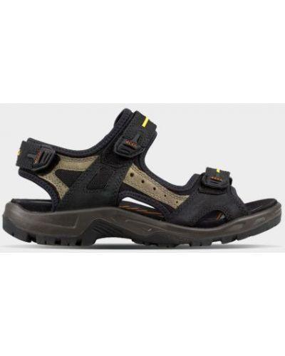 Спортивные сандалии - черные Ecco