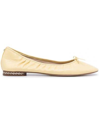 Желтые туфли с квадратным носком Sam Edelman