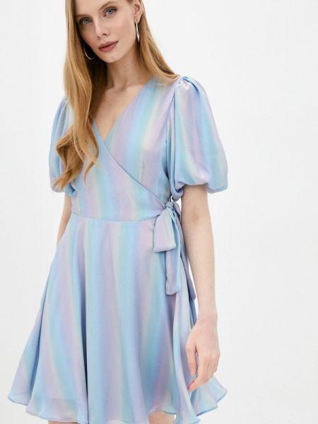 Платье - голубое Mbym