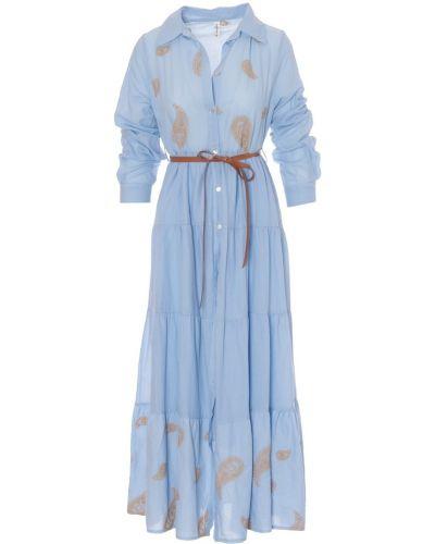 Sukienka - niebieska Tensione In