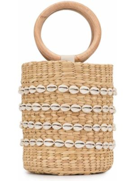 Пляжная сумка круглая с баской Poolside