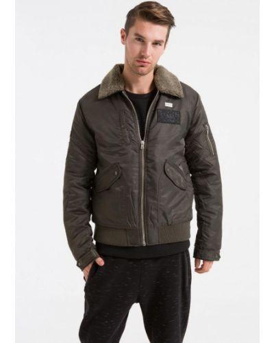 Утепленная куртка - коричневая Ltb