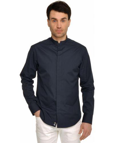 Синяя рубашка Armani Collezioni