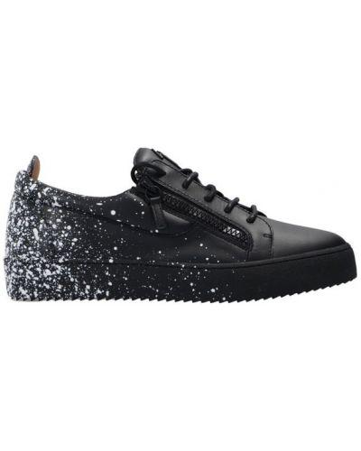 Sneakersy niskie - czarne Giuseppe Zanotti
