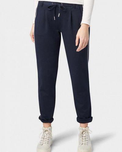 Спортивные брюки весенний синие Tom Tailor Denim